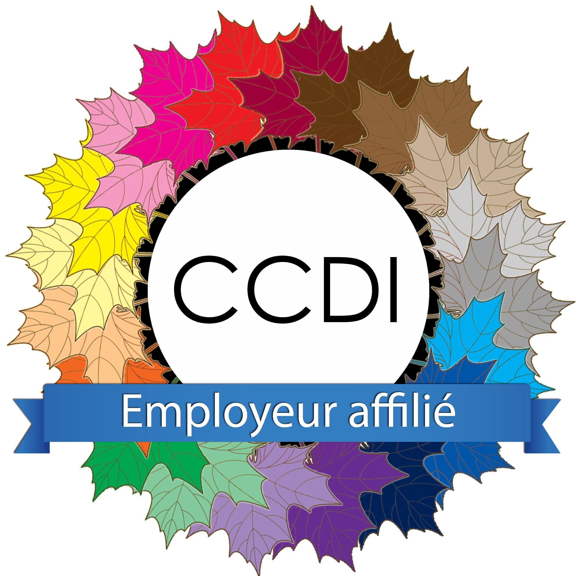 Employeur affilié du Centre canadien pour la diversité et l'inclusion — Le CCDI vise à fournir aux employeurs des solutions pratiques et durables qui les mèneront vers une véritable inclusion.