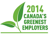 Logo: 2013 Canada's Greenest Employers