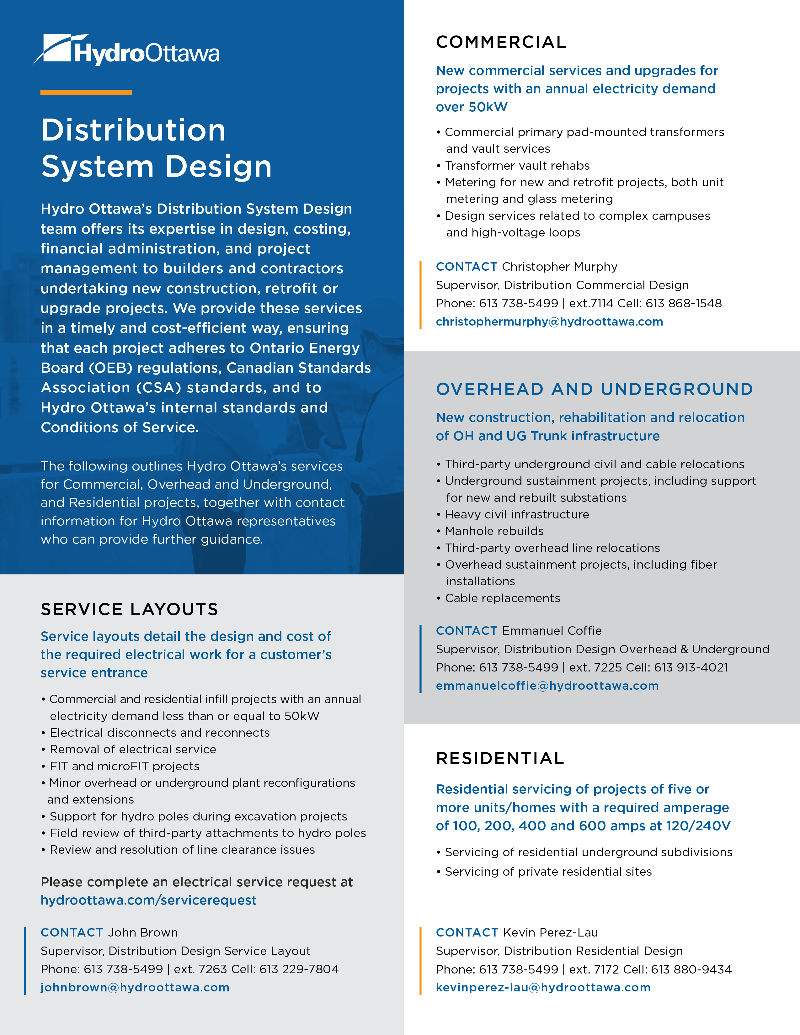 Distribution System Design
