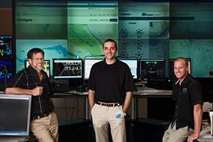 Hydro Ottawa's system control office.