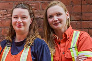Image of young Hydro Ottawa employees