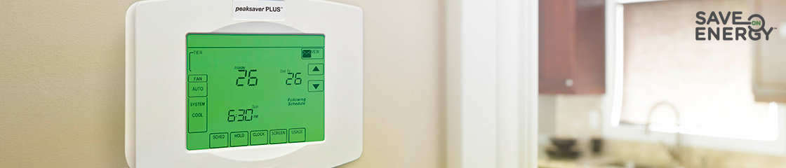 Save energy residential peaksaver plus hydro ottawa photo of a peaksaver plus thermostat asfbconference2016 Image collections