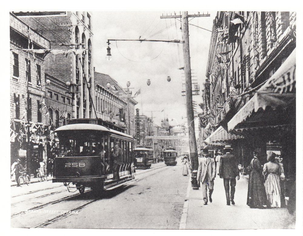 1891 Ottawa Electric Streetcars