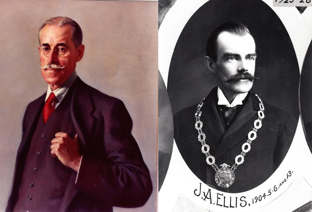 1905 portraits