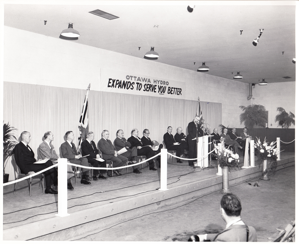Ottawa Hydro Building Opening May 1957