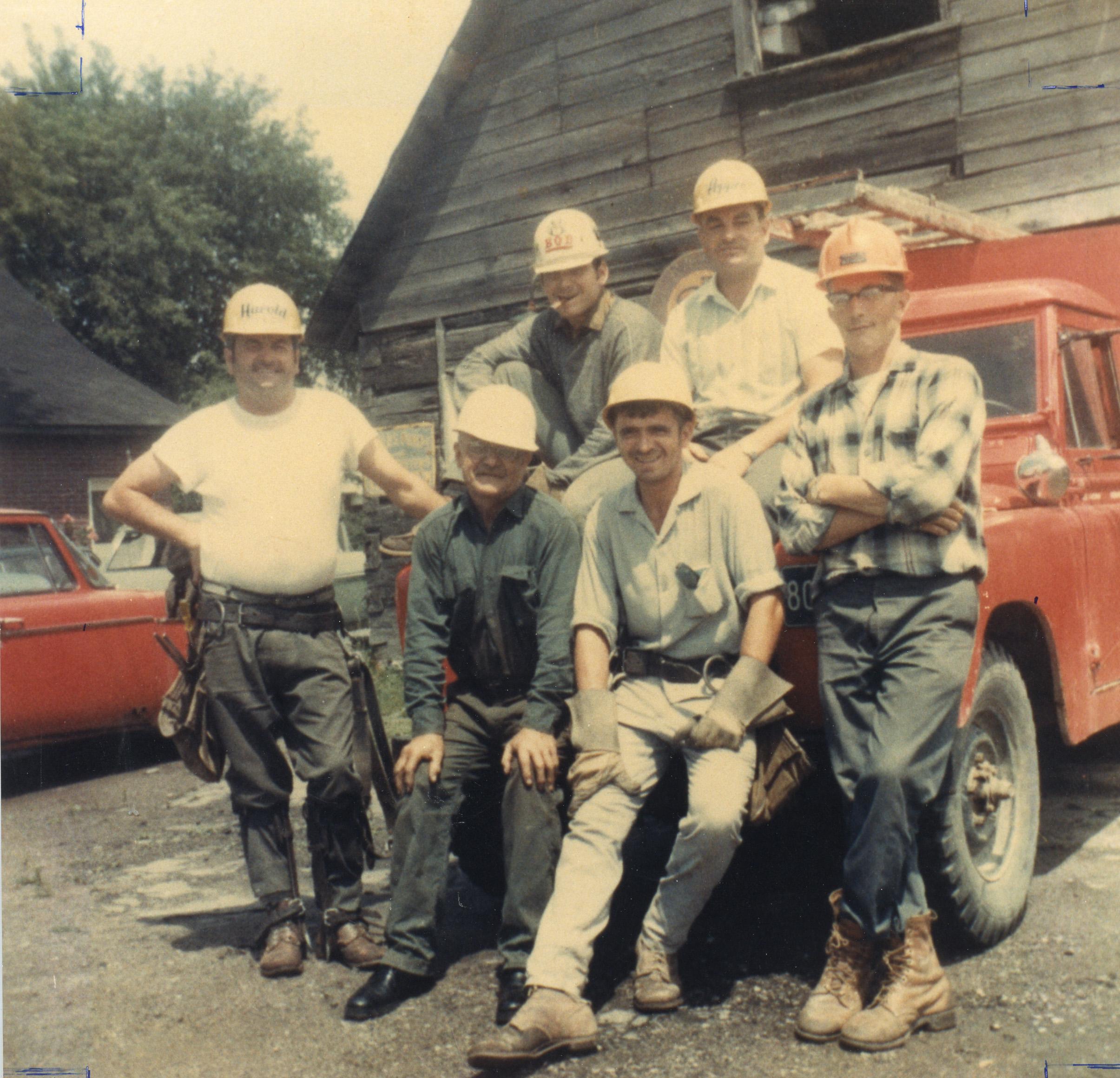 Équipe de fin de semaine de Richmond Hydro, 1969