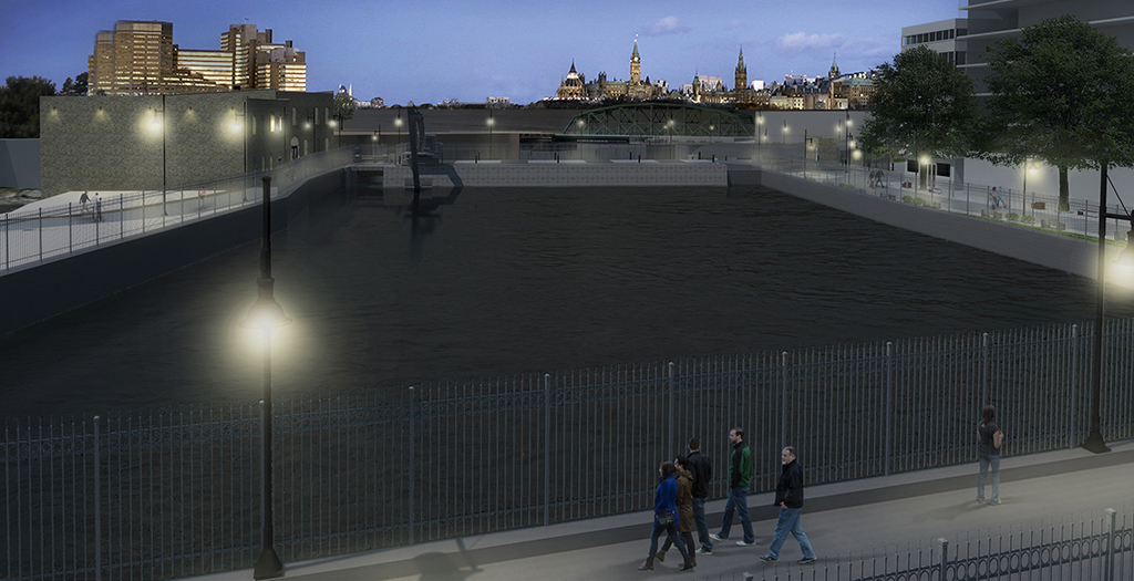 Pedestrian Bridge (Chaudiere design)