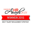 Canadian HR Award – The 2015 Canadian HR Award for Best Talent Management Strategy was received for our Retiree and Older Worker Engagement Strategy. This award celebrates excellence and innovation in ways of identifying and managing internal talent, as well as the ways in which development opportunities are delivered.