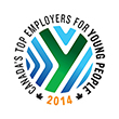 One of Canada's Top Employers for Young People for 2014