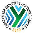 Top Employers for Young People 2019 – This award recognizes Hydro Ottawa for engaging youth in the workplace. Our dedication is exemplified through our educational partnerships, and summer student and cooperative education programs, and apprenticeship and internship opportunities, which offer young people meaningful and interesting work experiences.