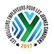 Meilleurs employeurs pour les jeunes Canadiens 2017 – Ce prix reconnaît l'engagement d'Hydro Ottawa à embaucher des jeunes. L'importance que nous accordons aux jeunes est illustrée par nos partenariats éducatifs, nos programmes d'embauche de stagiaires d'été et d'alternance travail-études ainsi que nos possibilités d'apprentissage et de stages, qui permettent aux jeunes d'acquérir de l'expérience concrète et intéressante.