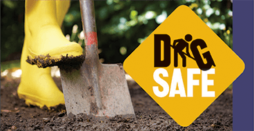 1-800-400-2255 to have your underground utility lines located.