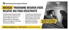 Programme Ontarien d'aide relative aux frais d'électricité