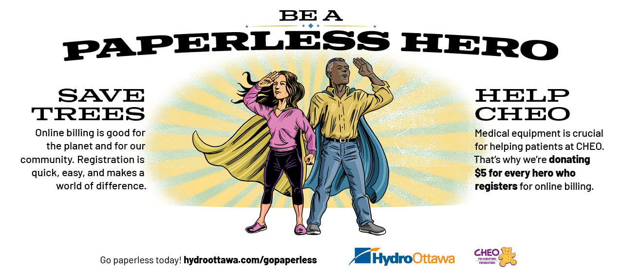 Be a Paperless Hero