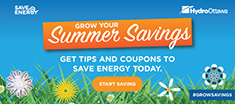 GET TIPS AND COUPONS TO SAVE ENERGY TODAY